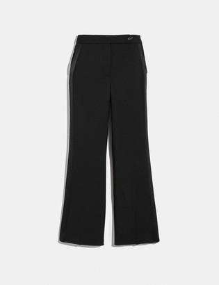 Coach Tuxedo Flare Trousers