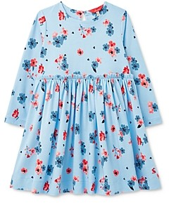 Joules Girls' Floral Print Shift Dress - Little Kid, Big Kid