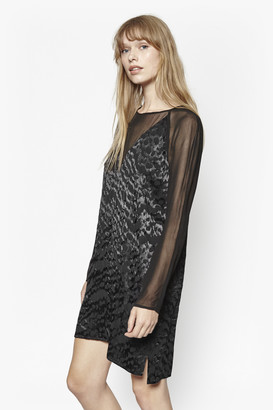 French Connection Aria Jacquard Tunic Dress