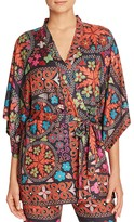 Josie Quilted Mauve Wrap Robe
