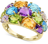 Effy Final Call by Multi-Gemstone (8 ct. t.w.) Statement Ring in 14k Gold