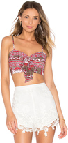 The Jetset Diaries Tropical Paradise Bustier