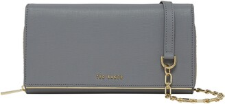 Ted Baker Ammbber Saffiano Leather Wallet on a Chain