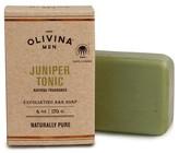 Olivina Men Exfoliating Juniper Tonic Bar Soap - 6oz