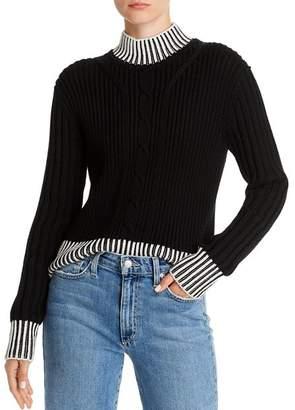 Equipment Alyonne Wool Mock-Neck Sweater