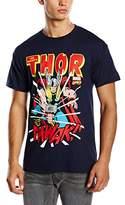 Marvel Men's Thor Thwak Short Sleeve T-Shirt