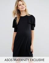 Asos T Shirt Dress with Ruffle