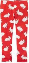 Carter's Baby Girl Fleece-Lined Bunny Rabbit Print Leggings