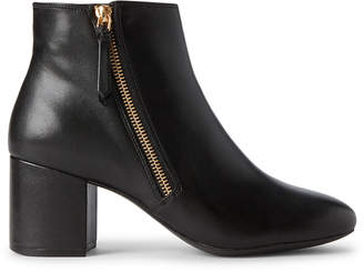 Cole Haan Black Saylor Grand Leather Ankle Booties