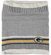 G Iii Women's G-III Sports by Carl Banks Green Bay Packers Warm Up Striped Tube Scarf
