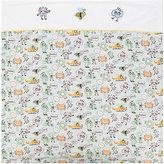 Fendi printed baby blanket - kids - Cotton/Polyester/Spandex/Elastane - One Size