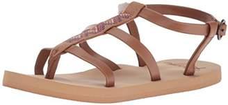 Roxy Girls' RG Keke Multi Strap Sandal
