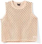 Theory Breeta E Crop Top Rust Pink (Medium)