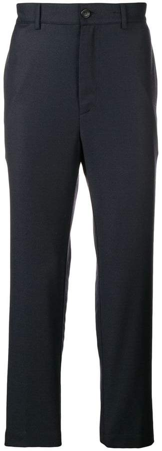 Mauro Grifoni cropped straight-leg trousers