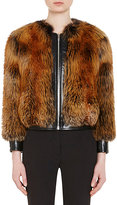 Prada Women's Fox Fur Bomber Jacket