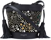 Sonia Rykiel gems studded bucket shoulder bag - women - Leather - One Size