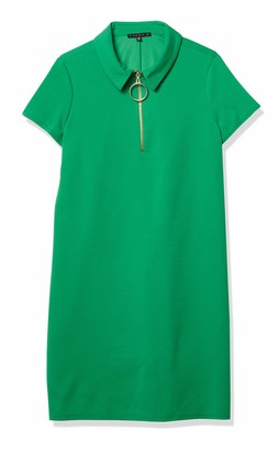 Tiana B T I A N A B. Women's Short Sleeve Zipper Detail Dress