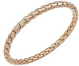 Chimento 18K Rose Gold Stretch Spring Collection Disc Rope Bracelet