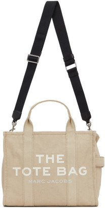 Marc Jacobs Beige The Small Traveler Tote