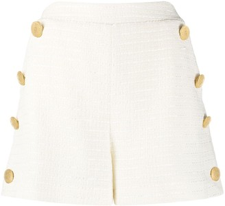 Boutique Moschino High-Waisted Tweed Shorts