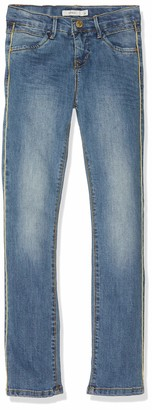 Name It Girl's Nkfsalli Dnmtiwa 2162 Pant Noos Jeans