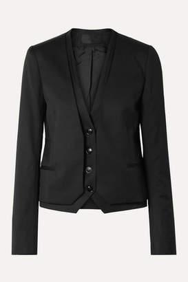 RtA Remy Layered Wool Blazer - Black