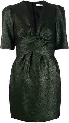 P.A.R.O.S.H. metallic mini dress