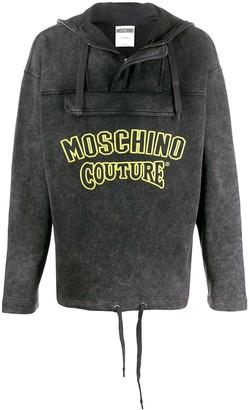 Moschino Cotton Logo Hoodie