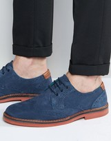 Ted Baker Reith Suede Brogue Shoes