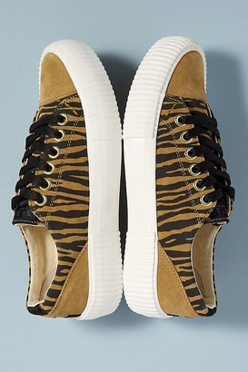 Shoe The Bear Tiger-Print Trainers