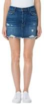 J Brand Women's Bonny Cutoff Denim Miniskirt