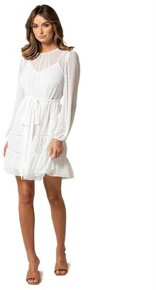 Forever New Fergie Long Sleeve Mini Dress