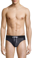 2xist Pin Stripe Rio Swim Brief