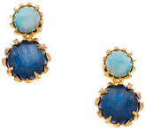 Heather Hawkins Torn Apart Stud Earrings In Kyanite/Larimar