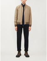 Valstar Funnel-neck cotton-blend jacket