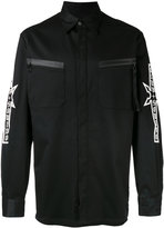 Marcelo Burlon County of Milan Ander shirt - men - Cotton/Spandex/Elastane - S