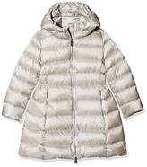 ADD Girl's Hooded Down Parka Cape,140 cm