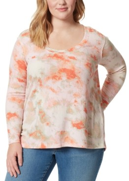 Jessica Simpson Trendy Plus Size Melinda Textured Top