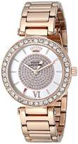 Juicy Couture Women's 1901152 Luxe Couture Analog Display Quartz Rose Gold-Plated Watch