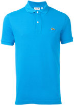 Lacoste logo patch polo shirt - men - Cotton - 4