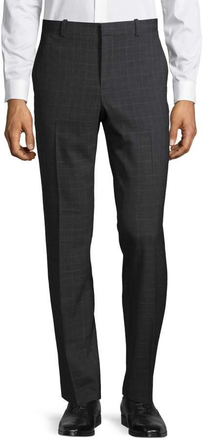 Perry Ellis Slim Fit Small Plaid Pants