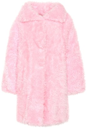 Balenciaga Swing faux fur coat