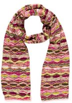 Missoni Multicolor Wool-Blend Scarf