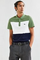 Lacoste Colorblock Textured Pique Polo Shirt