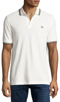 Fred Perry Contrast-Tip Pique Polo Shirt