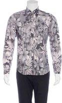 Dolce & Gabbana Floral Print Dress Shirt