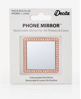Express idecoz rose gold selfie mirror