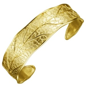 PRIME ART & JEWEL 18K Gold Over Sterling Silver Cuff Bracelet