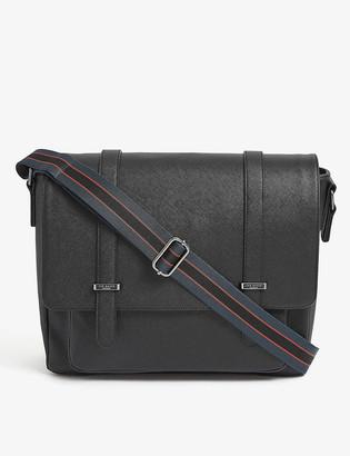 Ted Baker Onefor crossgrain PU satchel