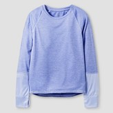 Champion Girls' Long Sleeve Tech T-Shirt